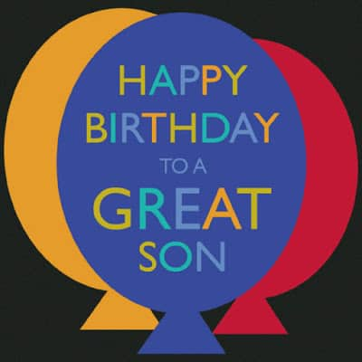 words from a mother to a son on his birthday
