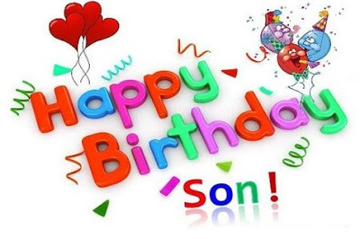 Cute Happy Birthday Wishes for Son from Father and Mother
