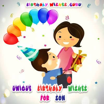 birthday wishes for a son from father and mother