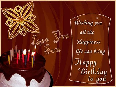 Message Of A Mother To Her Son On His Birthday