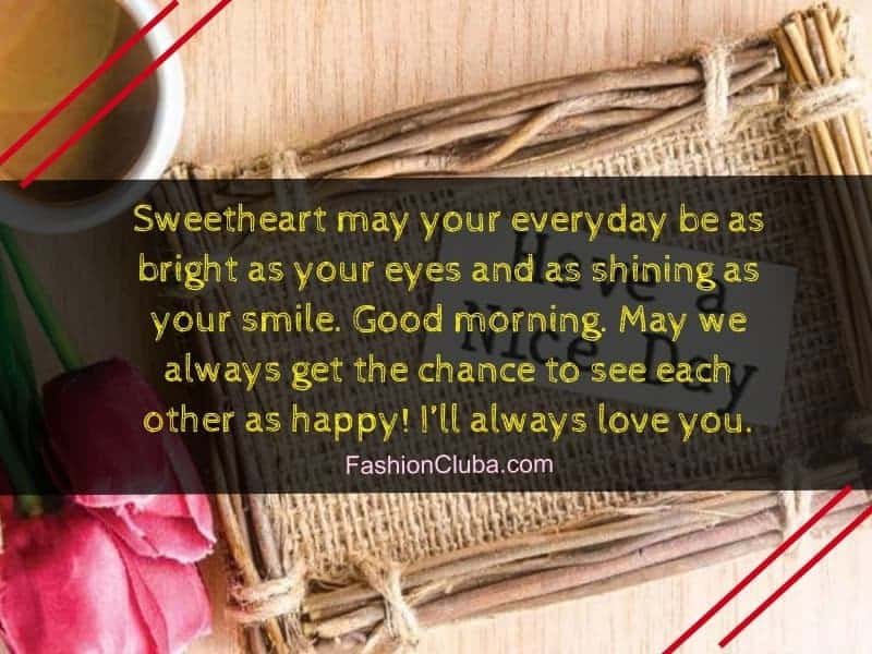 romantic good morning messages for lover