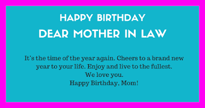 happy birthday quotes for deceased mother in law