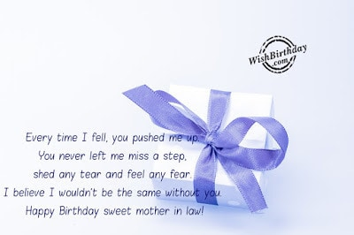 happy birthday message to my mother in law