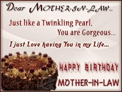 birthday quotes for mother in law from daughter in law