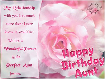 best wihses happy birthday aunty quotes