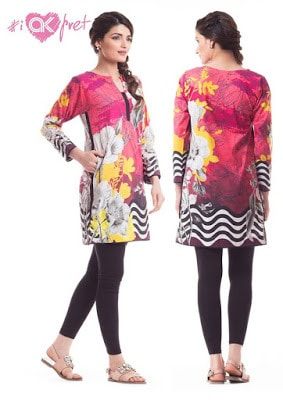 Alkaram alkaram winter kurti Collection 2018