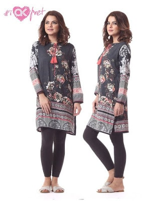 Alkaram various designs of kurtis
