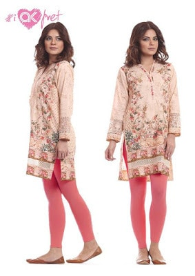 Alkaram latest kurti designs for girls
