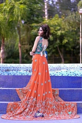 Amna Ajmal bridal wear & groom Dresses 2018 collection (7)