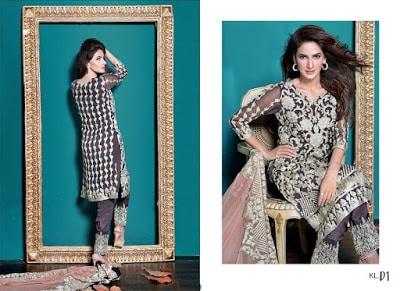 ZS Textiles long sleeve chiffon tunic dress