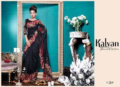 Kalyan chiffon summer Dresses 2018 by ZS Textiles