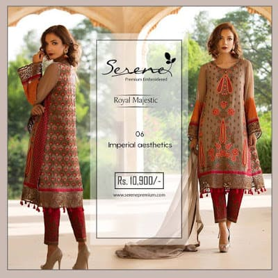Serene-premium-winter-chiffon-royal-majestic-collection-2017-2