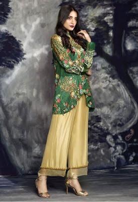 cross stitch winter linen khaddar dresses Collection 2018 (3)