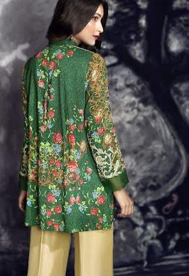 cross stitch winter linen khaddar dresses Collection 2018 (5)