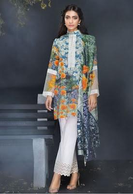 cross stitch winter linen khaddar dresses Collection 2018 (6)