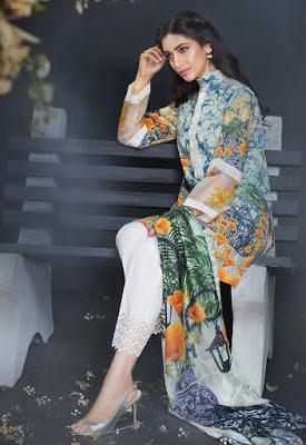cross stitch winter linen khaddar dresses Collection 2018 (8)