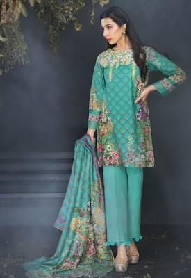 cross stitch winter linen khaddar dresses Collection 2018 (10)