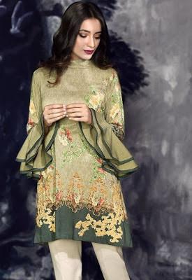 cross stitch winter linen khaddar dresses Collection 2018 (12)