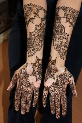 latest bridal mehndi Designs 2018 for hands for full hands (11)