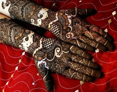 latest bridal mehndi Designs 2018 for hands for full hands (1)