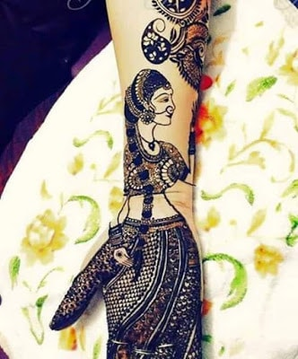 latest bridal mehndi Designs 2018 for hands for full hands (15)