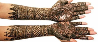 latest bridal mehndi Designs 2018 for hands for full hands (6)