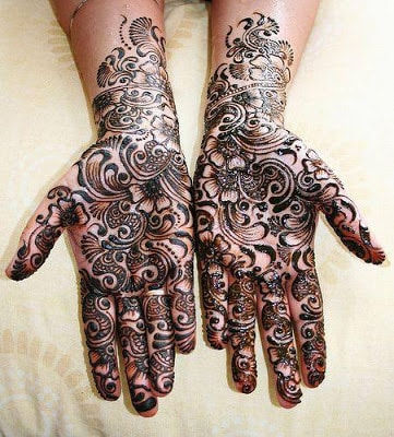 latest bridal mehndi Designs 2018 for hands for full hands (7)