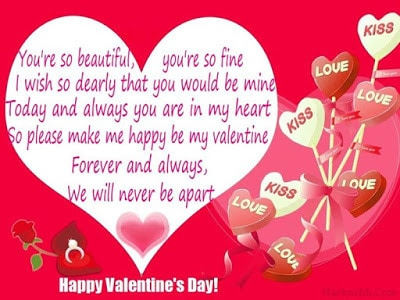 sweeet short valentine messages for girlfriend