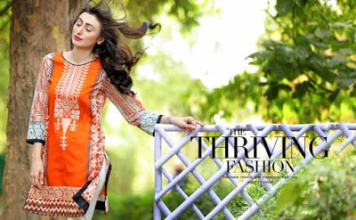 Pakistani summer lawn Dresses 2018