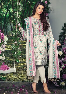 Alkaram cute summer lawn print Dresses 2018 for women