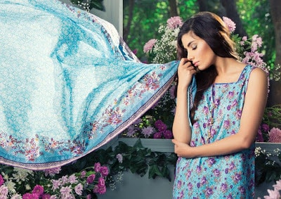Alkaram spring summer lawn prints elegance Collection 2018