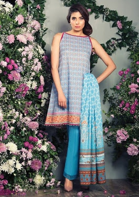 Alkaram summer lawn Dresses 2018 for women with price