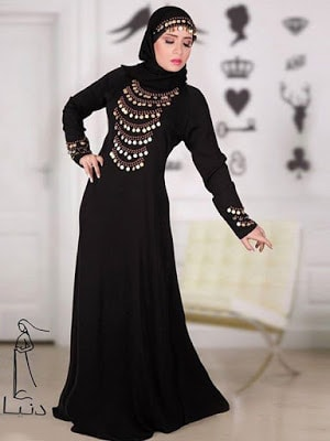 Awesome abayas Designs 2018 collection