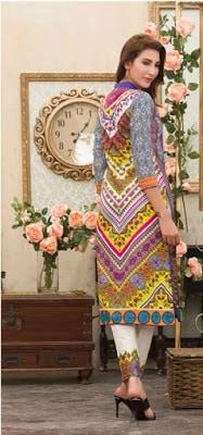 Batik 2 piece summer lawn print dresses design