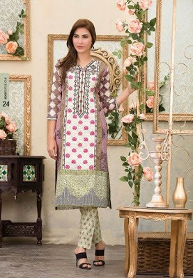 Batik summer embroidered lawn collection for girls