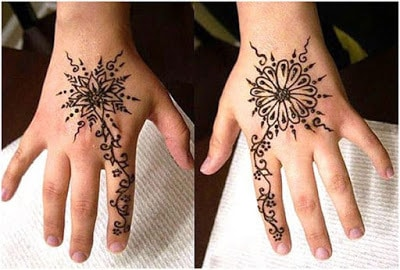 Best collection of mehndi Designs 2018 for kids by famous henna artist