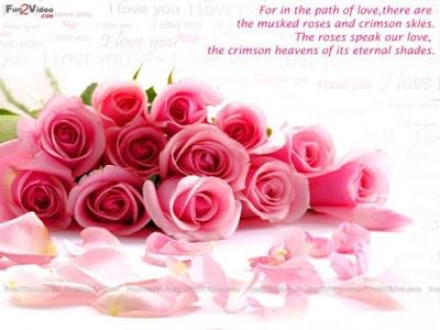 Cute good morning romantic love flower for girlfriend