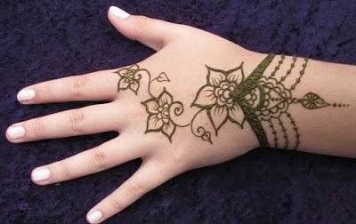 Easy and simple mehndi designs Collection 2018 for kids hands