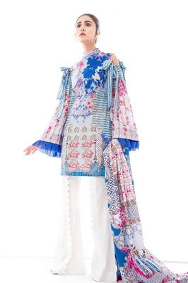 Ethnic by outfitters summer lawn unstitched print designs