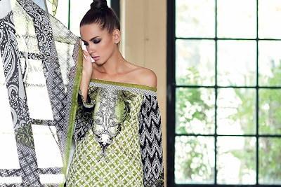 Gul-Ahmed-summer-la-chiffon-printed-lawn-dresses-2017-for-girls-2