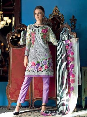 Gul-Ahmed-summer-la-chiffon-printed-lawn-dresses-2017-for-girls-5