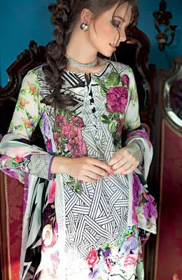 Gul-Ahmed-summer-la-chiffon-printed-lawn-dresses-2017-for-girls-6