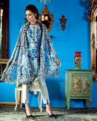 Gul-Ahmed-summer-la-chiffon-printed-lawn-dresses-2017-for-girls-7