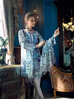Gul-Ahmed-summer-la-chiffon-printed-lawn-dresses-2017-for-girls-8