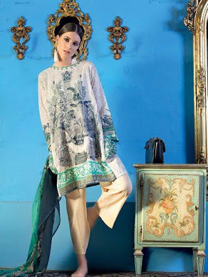 Gul-Ahmed-summer-la-chiffon-printed-lawn-dresses-2017-for-girls-9