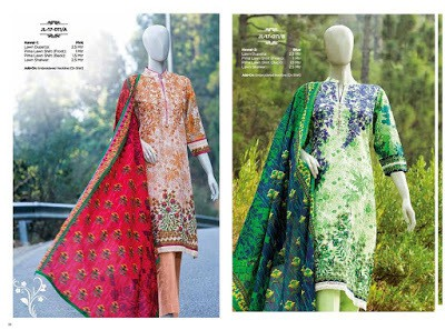 J. Junaid Jamshed Spring Summer Lawn Collection 2018 Full Catalog
