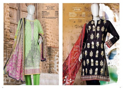 Junaid Jamshed Lawn 2018 Collection Vol-1