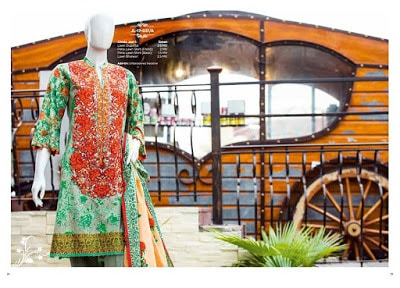 Junaid Jamshed new spring summer dresses Collection 2018 for ladies.