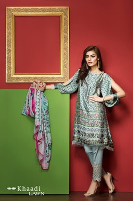 Khaadi-latest-summer-lawn-designs-satin-collection-2017-for-girls-2
