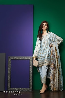 Khaadi-latest-summer-lawn-designs-satin-collection-2017-for-girls-7